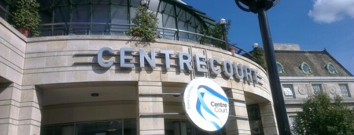 Centre Court Shopping Centre is one of Wimbledon walk.