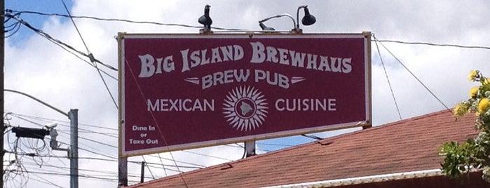 Big Island Brewhaus is one of Big Island Eats.