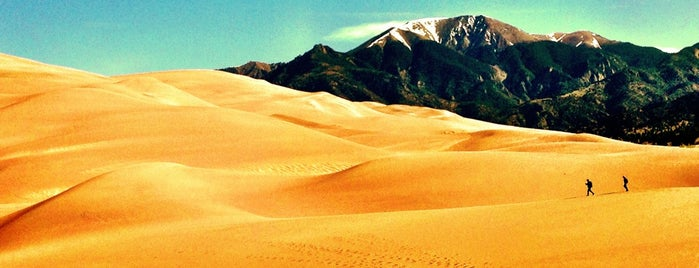 Great Sand Dunes National Park is one of Colorado Tourism.