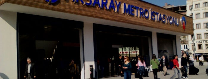 Aksaray Metro İstasyonu is one of On my way.