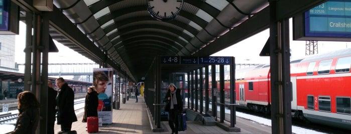 Ulm Hauptbahnhof is one of Ausgewählte Bahnhöfe.