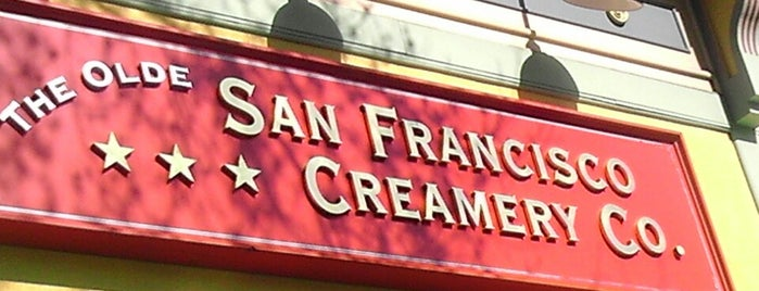 San Francisco Creamery Co. is one of Man v Food Nation.