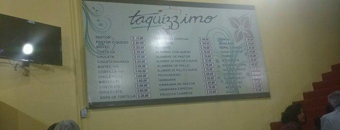 Taquizzimo is one of Comida.