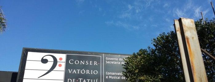 """Conservatório de Tatuí """"Dr Carlos de Campos"""" is one of Tatuí."""