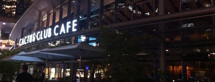 Cactus Club Cafe is one of All-time favorites in Canada.