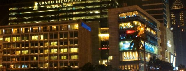 Grand Indonesia Shopping Town is one of most visited places in jakarta.