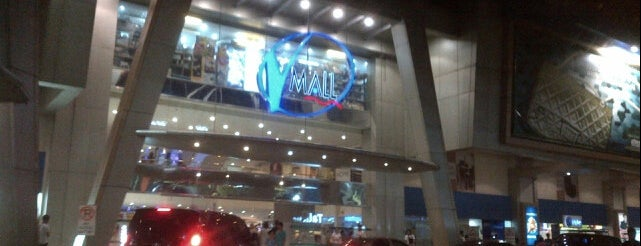 V-Mall is one of Guide to San Juan.