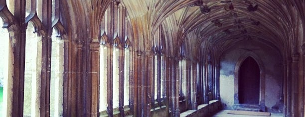 Lacock Abbey, Fox Talbot Museum and Village is one of Harry Potter & The Mayor Of Diagon Alley.