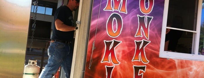 Smokin' Monkey Food Truck is one of St. Louis food trucks.