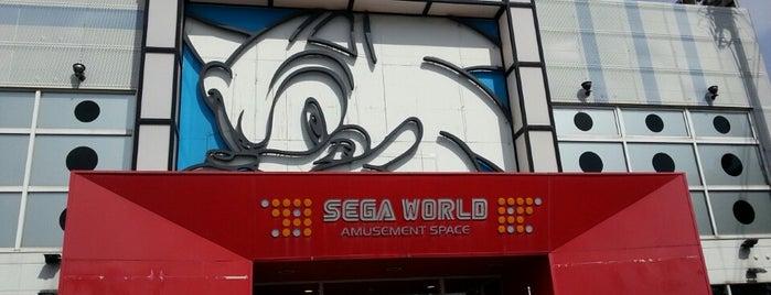 セガワールド 枚方 is one of 関西のゲームセンター.