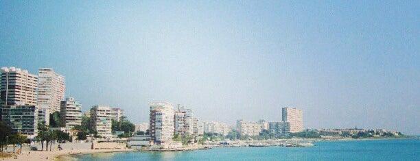 Playa La Albufereta is one of Alicante urban treasures.