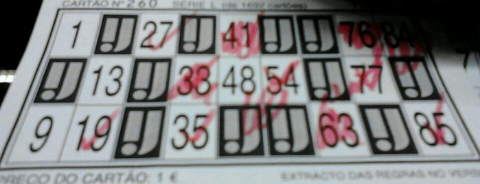 Bingo Do Salgueiros is one of Porto, Portugal.