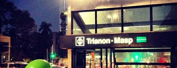 Estação Trianon-Masp (Metrô) is one of Transporte.