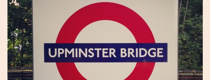 Upminster Bridge London Underground Station is one of Tube Challenge.