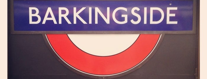 Barkingside London Underground Station is one of Tube Challenge.