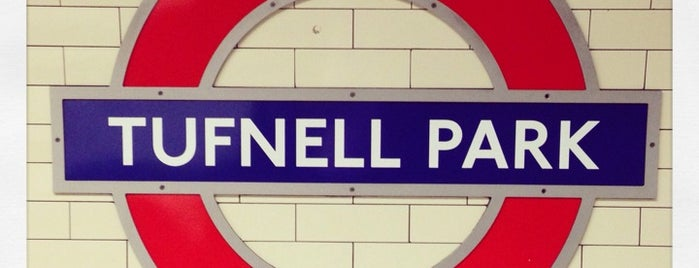 Tufnell Park London Underground Station is one of Tube Challenge.