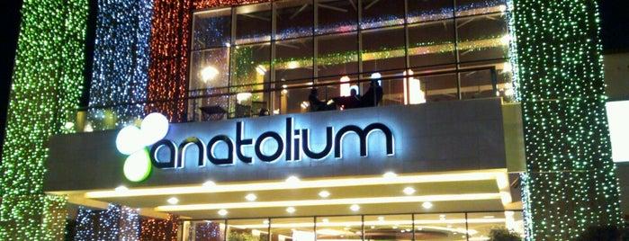 Anatolium is one of 20 favorite restaurants.