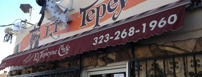 Manuel's Original El Tepeyac Cafe is one of Man v Food Nation.