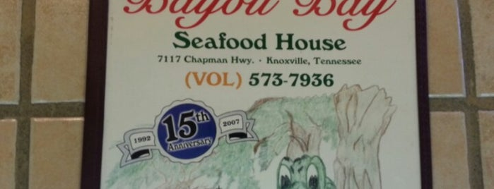 Bayou Bay Seafood House is one of Favorites.
