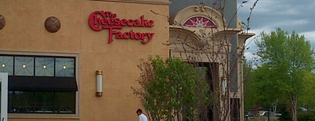 The Cheesecake Factory is one of Places I Frequent.
