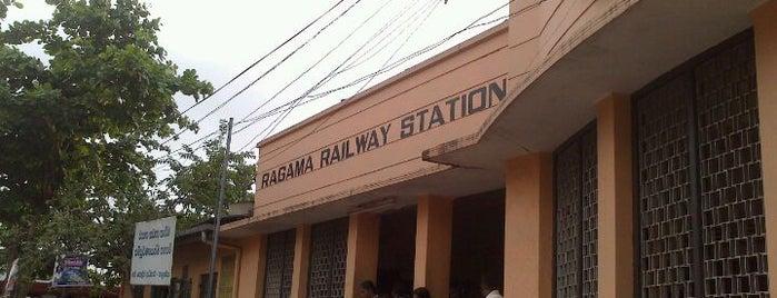 Ragama Railway Station is one of Railway Stations In Sri Lanka.