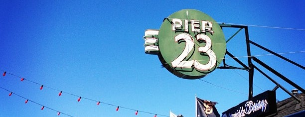 Pier 23 is one of San Francisco Happy Hour Spots.