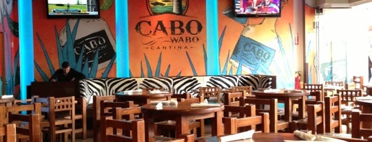 Cabo Wabo Cantina is one of Vegas.
