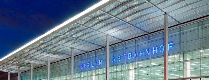 Berlin Ostbahnhof is one of Besuchte Berliner Bahnhöfe.