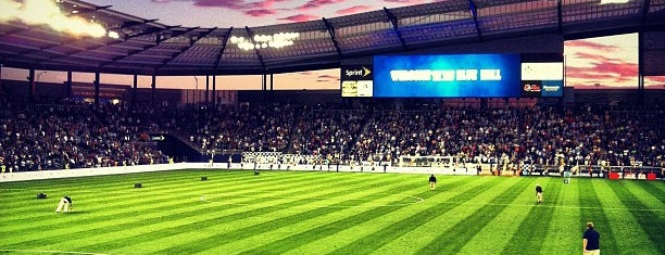 Children's Mercy Park is one of Sporting KC on foursquare.