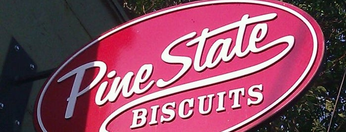 Pine State Biscuits is one of Baio's Guide to Portland.