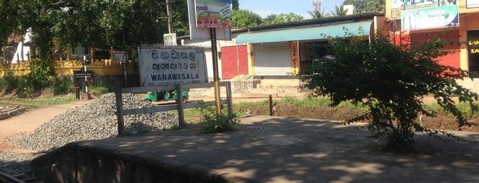 Wanawasala Railway Station is one of Railway Stations In Sri Lanka.