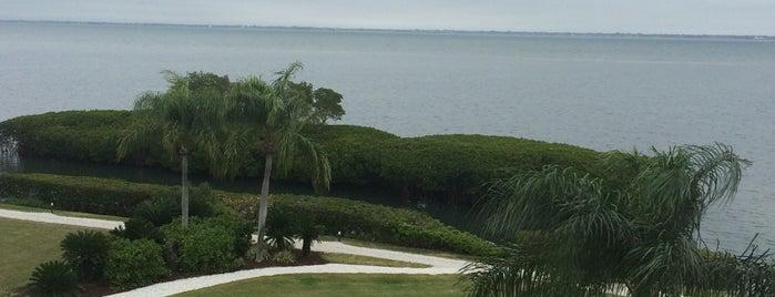 Longboat Key Club & Resort Tennis Gardens is one of My Sunshine State <3.