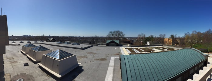 Tisch Library Roof, Tufts University is one of Welcome to Tufts, Class of 2015!.