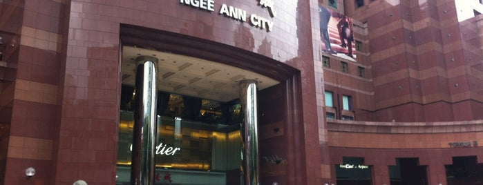Ngee Ann City is one of All-time favorites in Singapore.