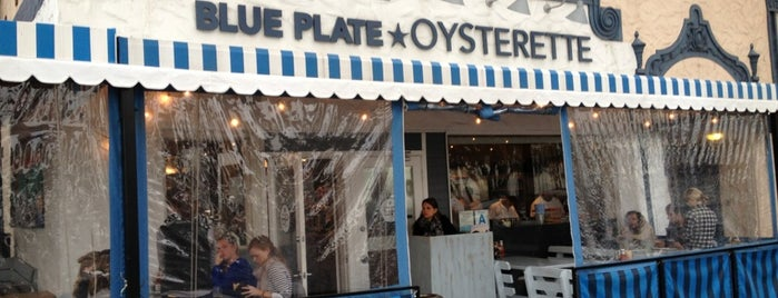 Blue Plate Oysterette is one of Seafood places in Santa Monica and Venice, CA.