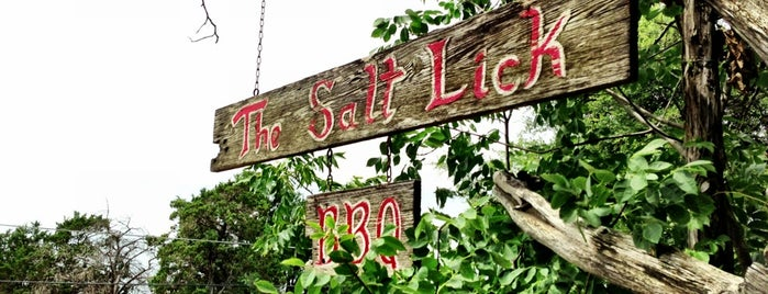 The Salt Lick is one of Man v Food Nation.
