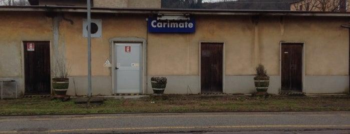 Stazione Carimate is one of Linee S e Passante Ferroviario di Milano.