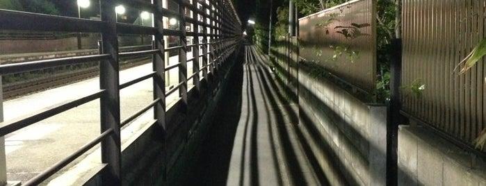 北鎌倉★下り列車最後尾の横の道 is one of ☆.