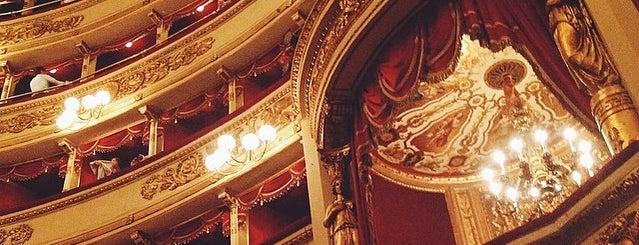 Teatro alla Scala is one of 101Cose da fare a Milano almeno 1 volta nella vita.
