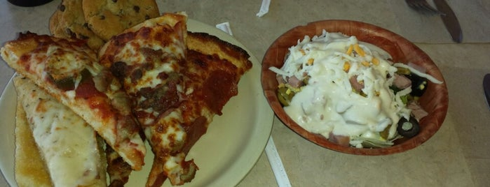 Godfather's Pizza is one of Springfield, Springfield!!.