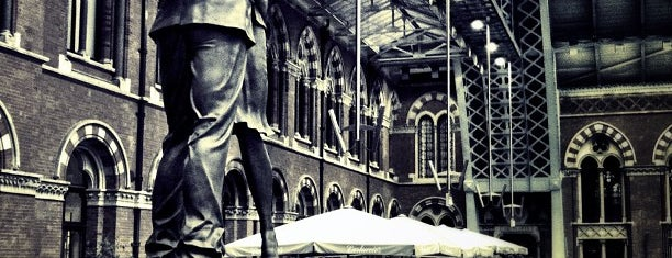 London St Pancras International Railway Station (STP) is one of Harry Potter & The Mayor Of Diagon Alley.