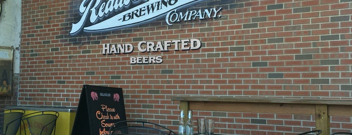 Reads Landing Brewing Company is one of Businesses & stores supporting Sunday liquor sales.