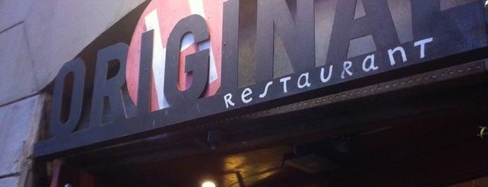 L'Horiginal is one of Restaurantes recomendados.