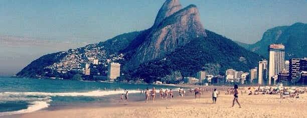 Praia de Ipanema is one of Carioca Badge.