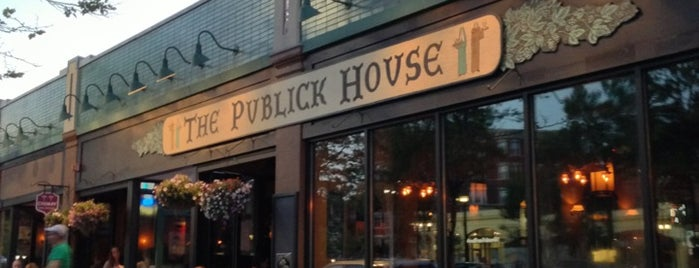 The Publick House is one of 40 Days Left in Boston.