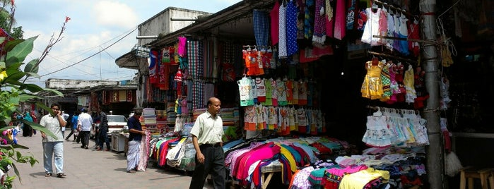 New Market is one of Must-visit Malls in Dhaka.