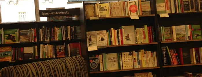 Waterstones is one of Libraries and Bookshops.
