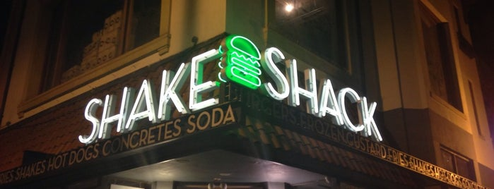Shake Shack is one of DC Burger Places.