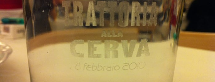 Trattoria Alla Cerva is one of Posti cool Vittorio!.