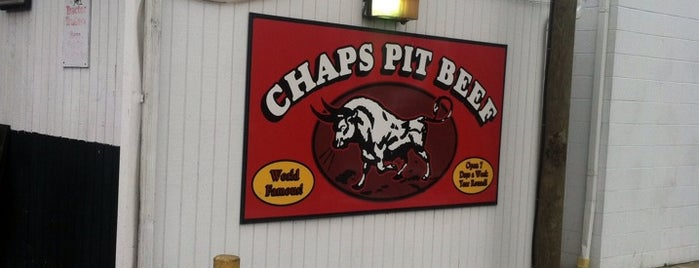 Chaps Pit Beef is one of Food Spots to Try.